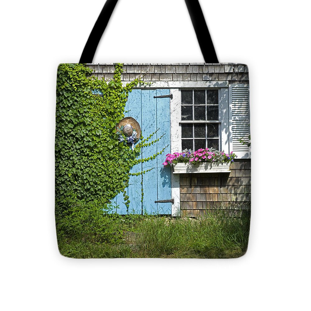 Millway Scene In Barnstable - Tote Bag