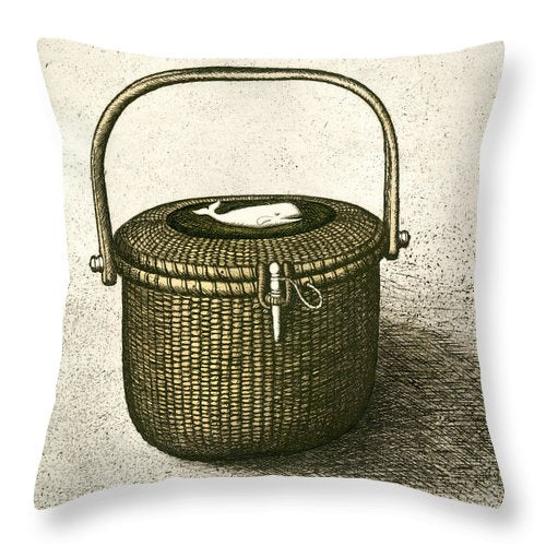 Nantucket Basket - Throw Pillow