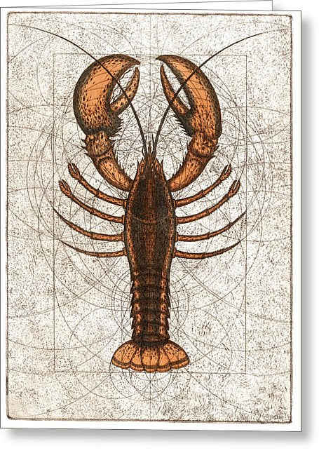 Northern Lobster - Greeting Card