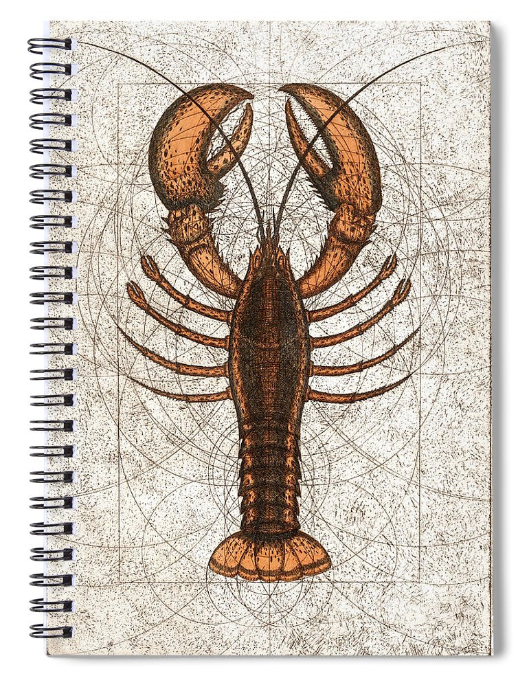 Northern Lobster - Spiral Notebook