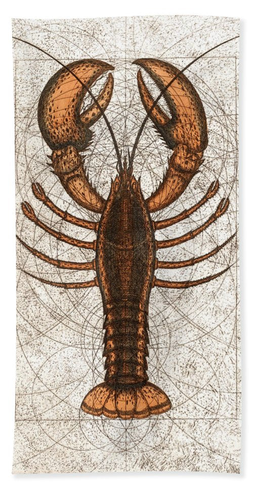 Northern Lobster - Beach Towel