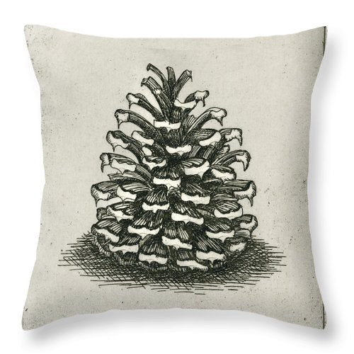 One Pinecone - Throw Pillow