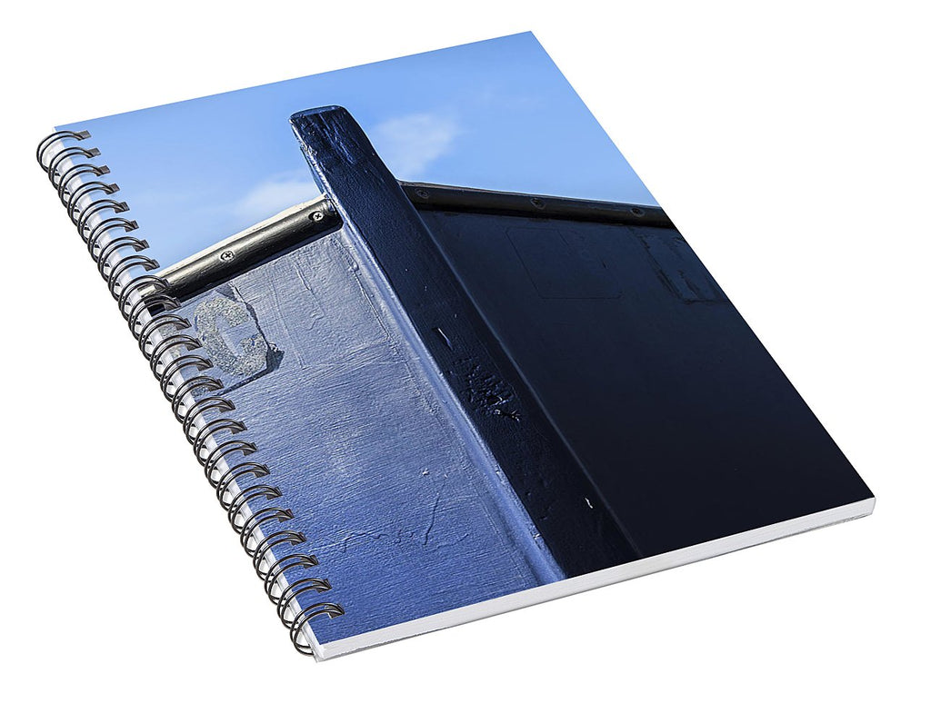Painted Boat Bow - Spiral Notebook
