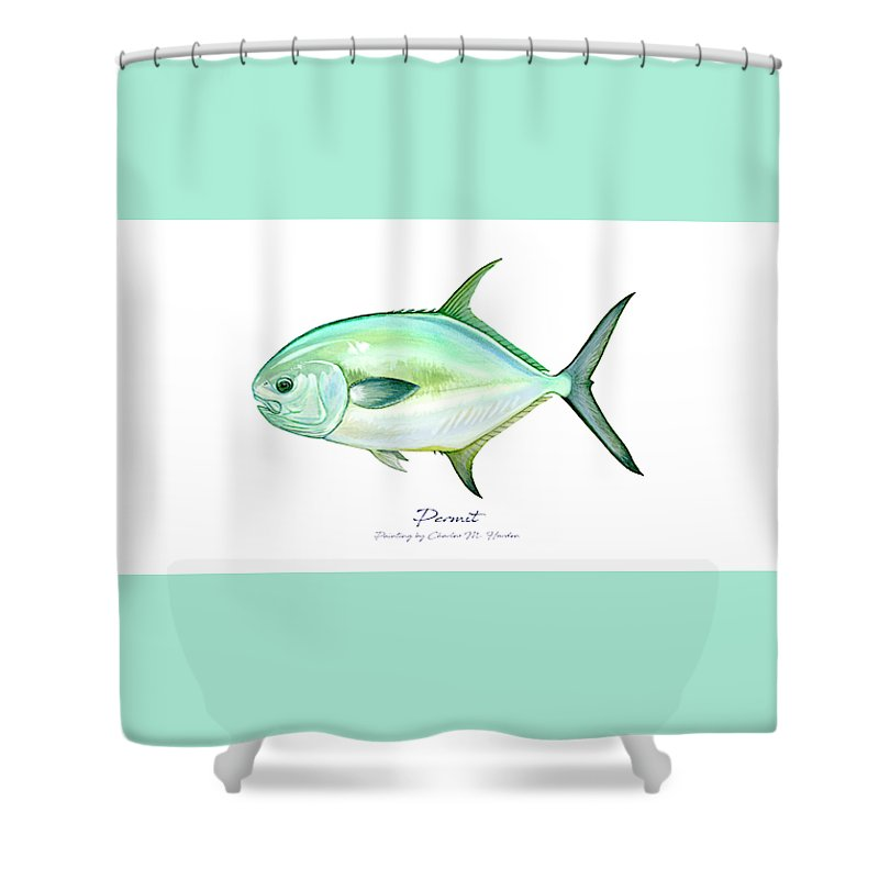 Permit - Shower Curtain