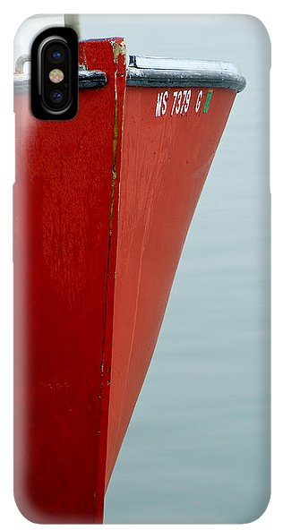 Red Fishing Boat - Phone Case