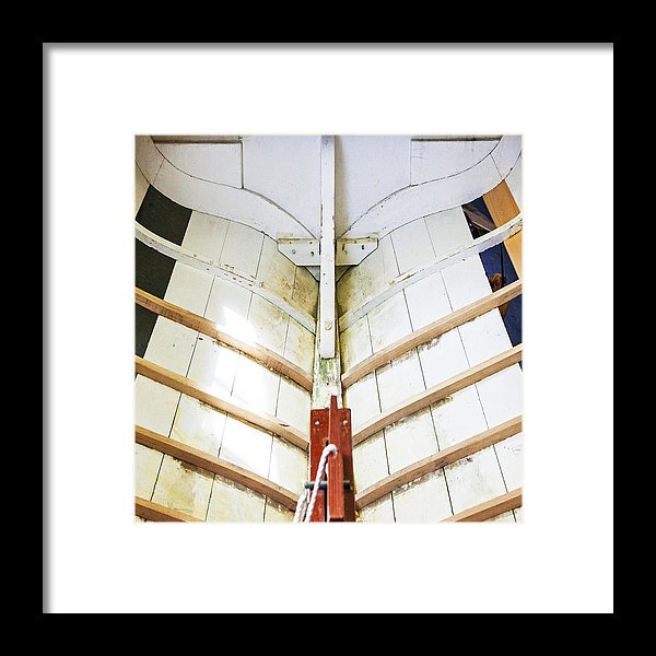 Wooden Sailboat Boat Restoration - Framed Print