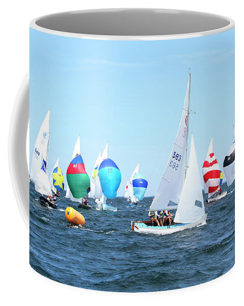 Rhodes Nationals Sailing Race Dennis Cape Cod - Mug