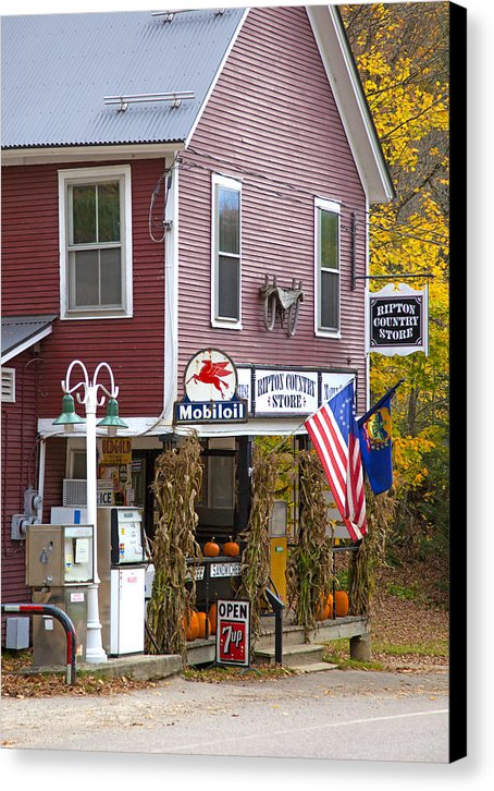 Ripton Country Store Vermont - Canvas Print