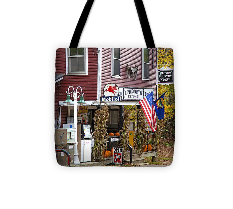 Ripton Country Store Vermont - Tote Bag