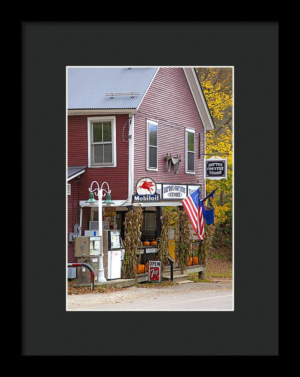 Ripton Country Store Vermont - Framed Print