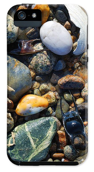 Rocks And Shells On Sandy Neck Beach - Phone Case