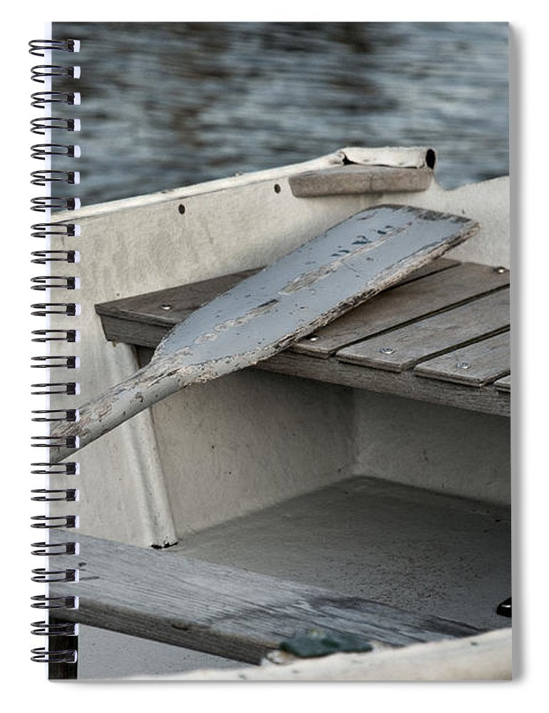 Rowboat - Spiral Notebook