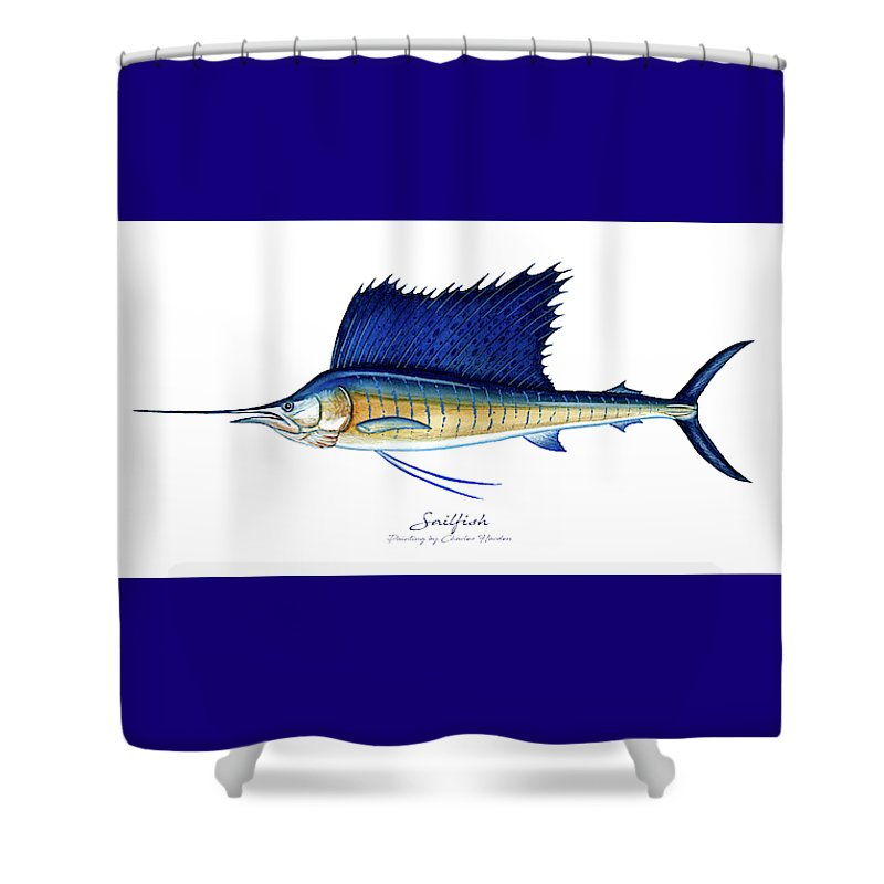 Sailfish - Shower Curtain