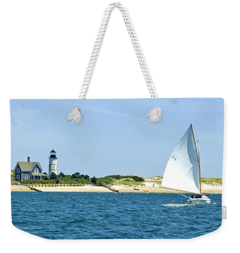 Sailing Around Barnstable Harbor - Weekender Tote Bag