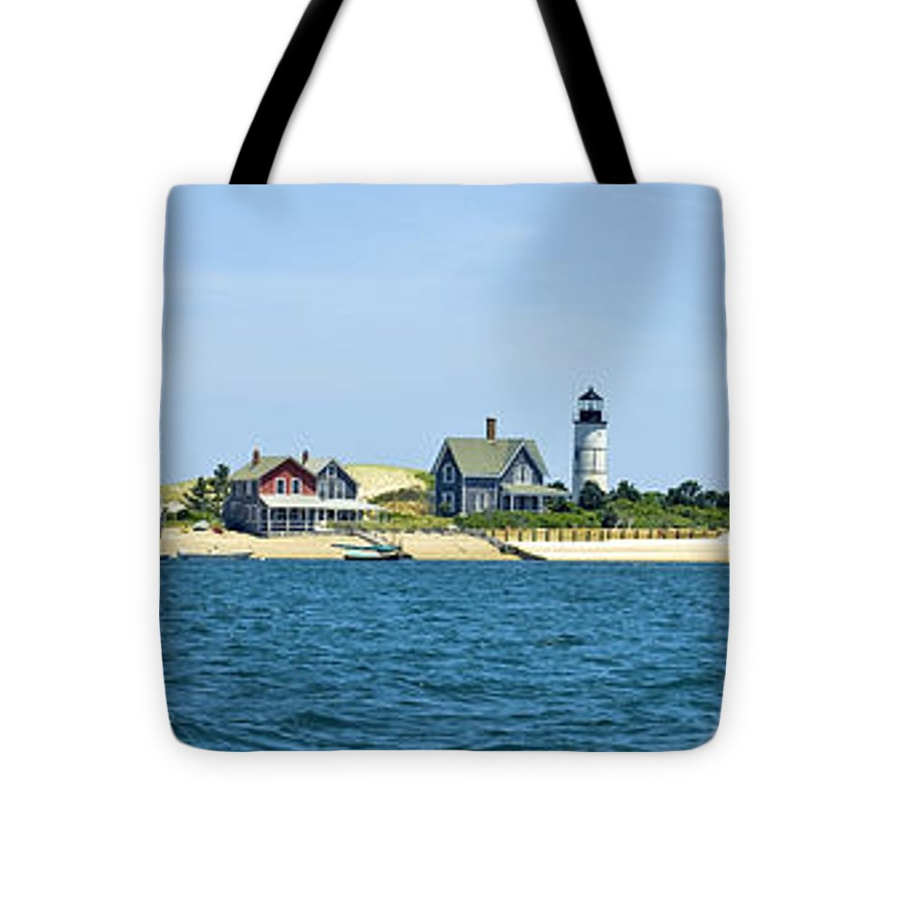Sailing Around Barnstable Harbor - Tote Bag