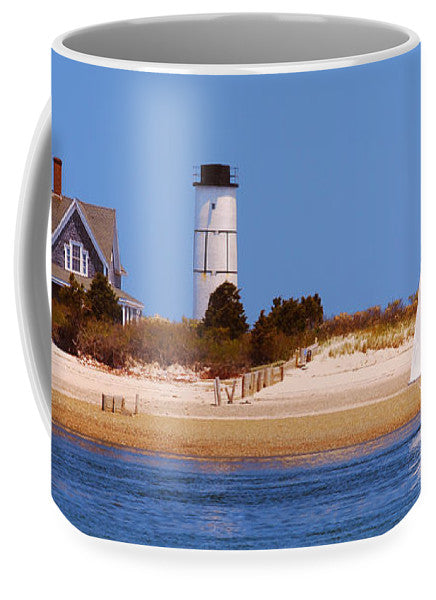 Sailing Around Sandy Neck Lighthouse - Mug