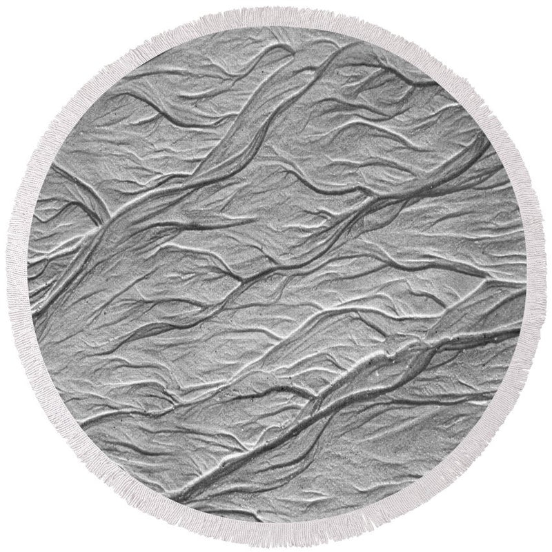 Sand Formations - Round Beach Towel