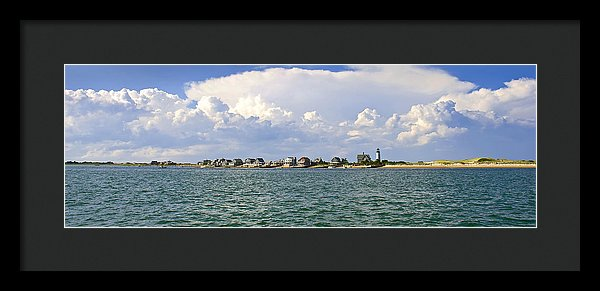 Sandy Neck Cottage Colony - Framed Print