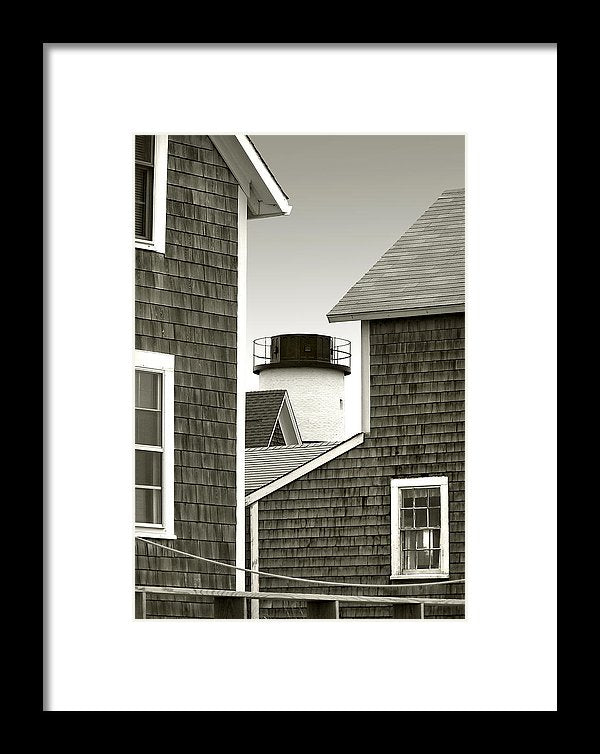 Sandy Neck Lighthouse - Framed Print