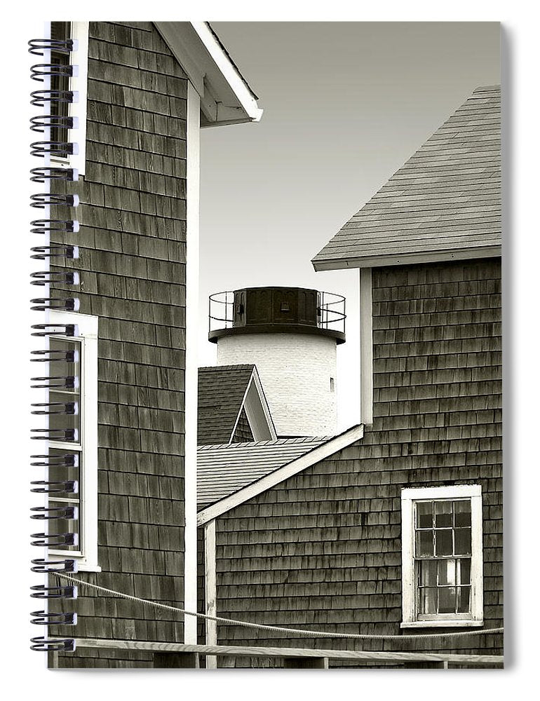 Sandy Neck Lighthouse - Spiral Notebook