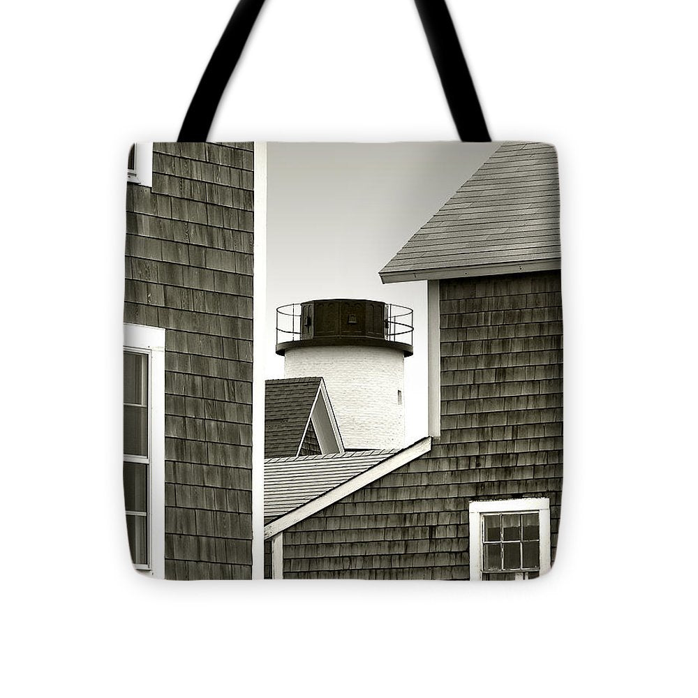 Sandy Neck Lighthouse - Tote Bag