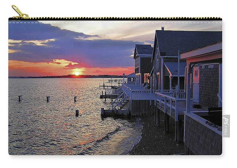 Sandy Neck Sunset At The Cottages - Carry-All Pouch
