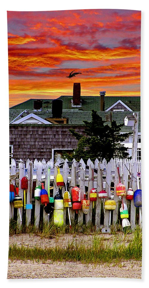 Sandy Neck Sunset - Bath Towel