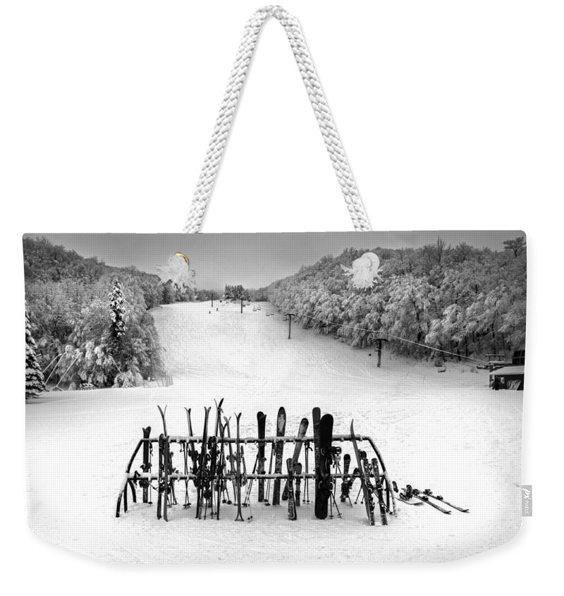 Ski Vermont At Middlebury Snow Bowl - Weekender Tote Bag