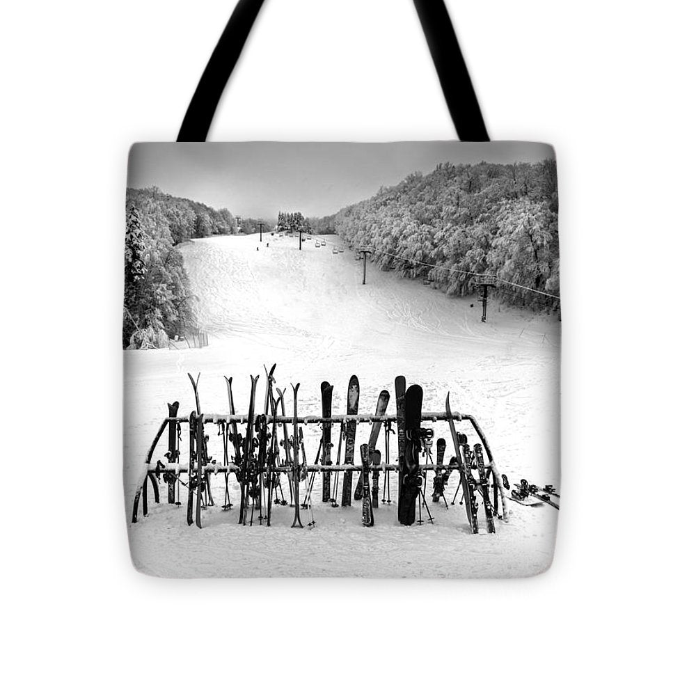 Ski Vermont At Middlebury Snow Bowl - Tote Bag