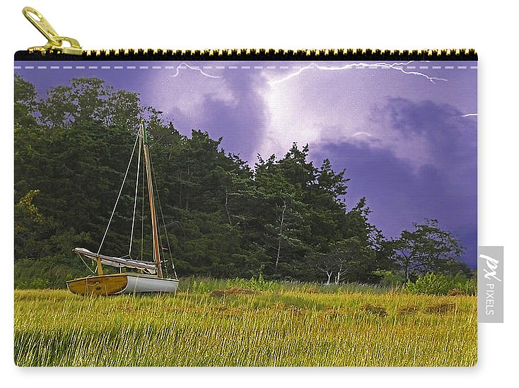 Storm Over Knott's Island - Carry-All Pouch