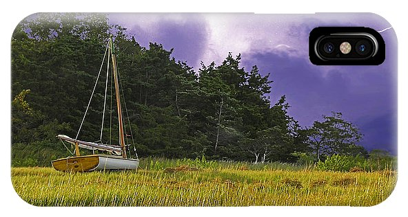 Storm Over Knott's Island - Phone Case