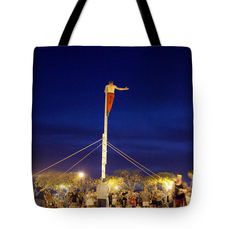Street Performer Key West - Tote Bag