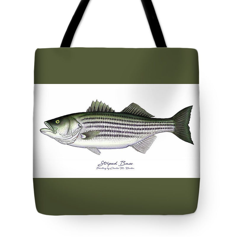Striped Bass - Tote Bag
