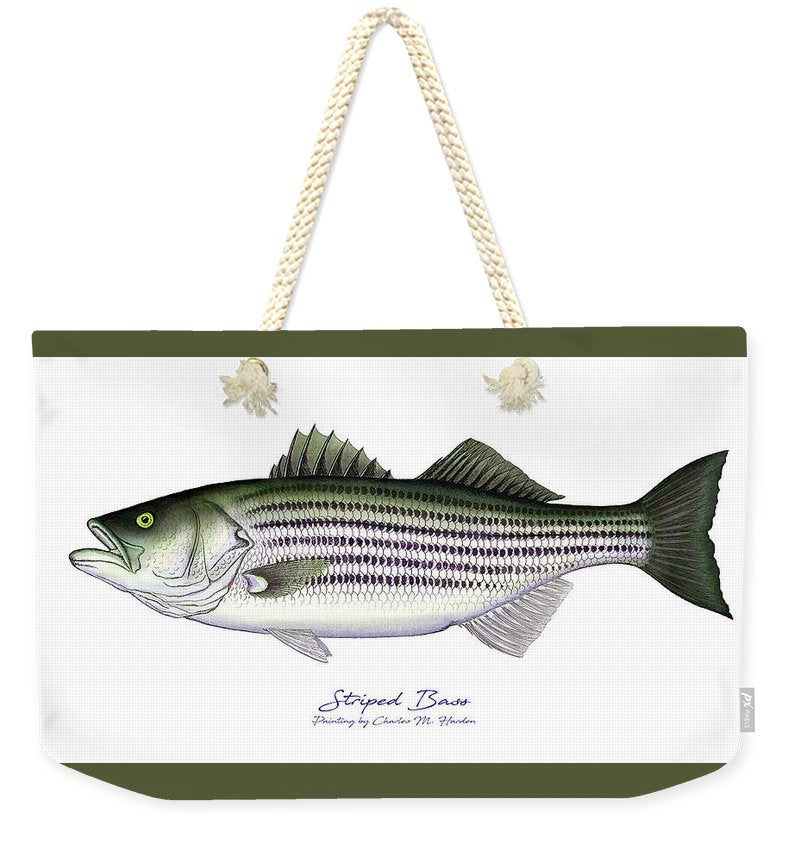Striped Bass - Weekender Tote Bag