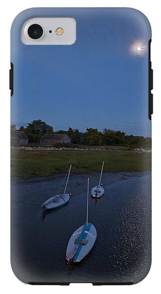 Sunfishes In Moonlight - Phone Case