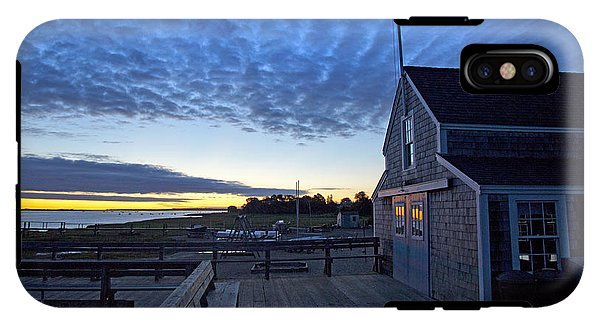 Sunrise At Barnstable Yacht Club - Phone Case