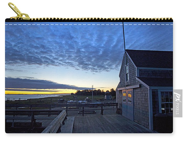 Sunrise At Barnstable Yacht Club - Carry-All Pouch