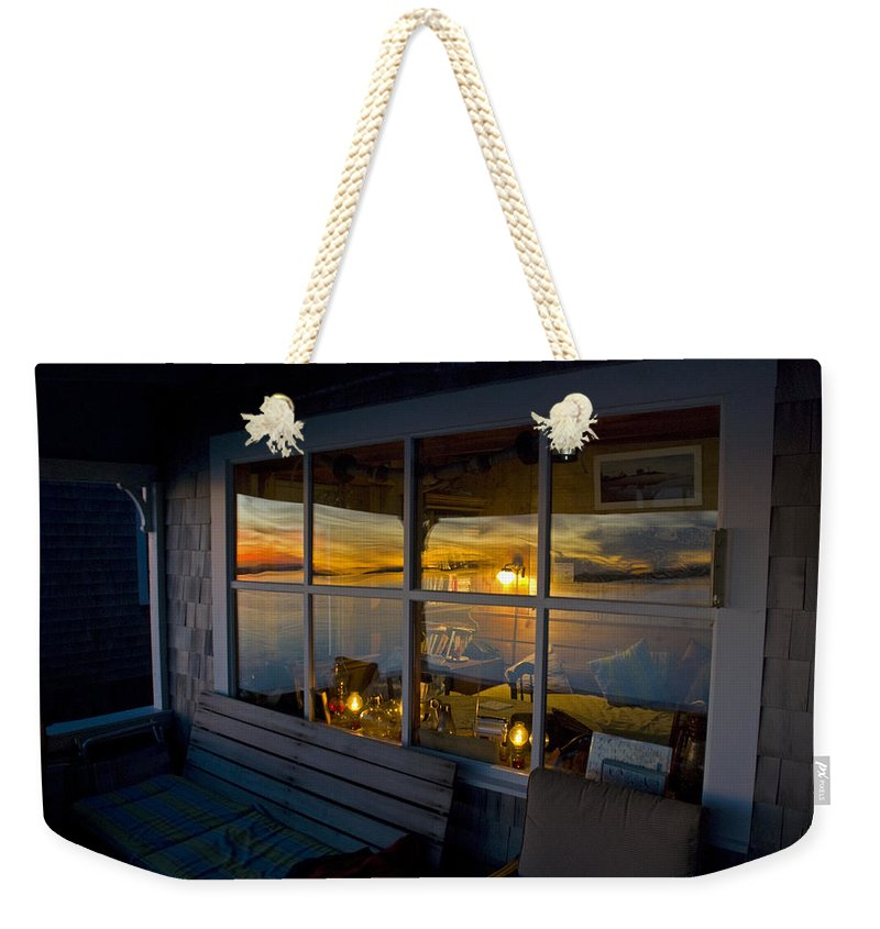 Sunset At Fletchers Camp - Weekender Tote Bag