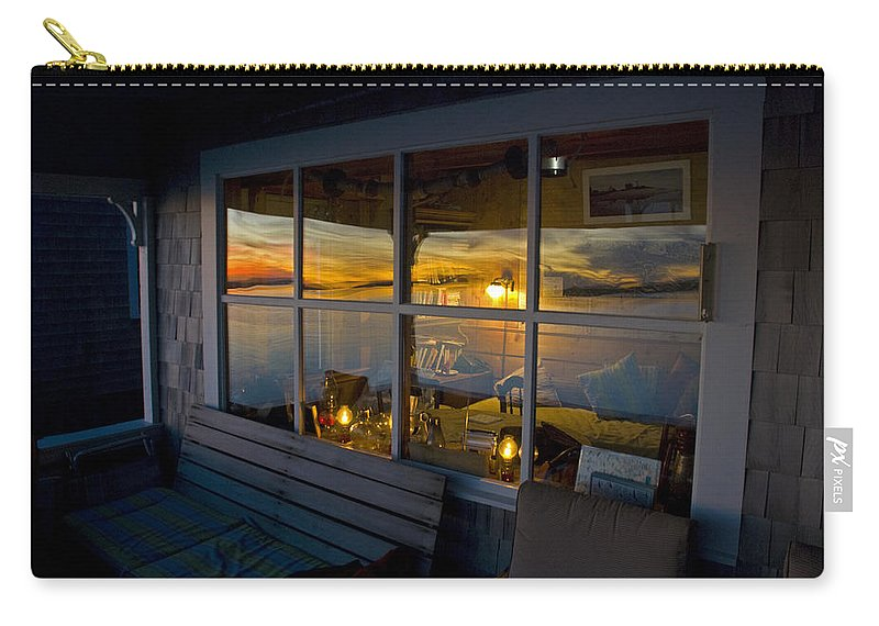 Sunset At Fletchers Camp - Carry-All Pouch