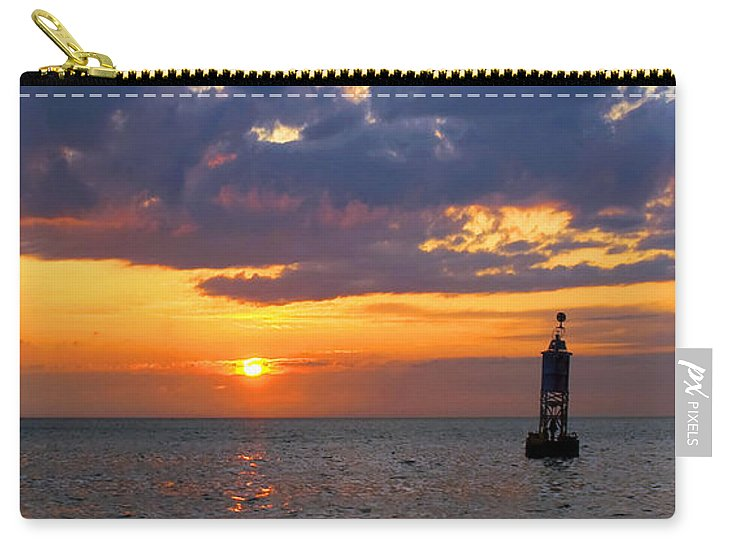 Sunset At The Bell Buoy - Carry-All Pouch