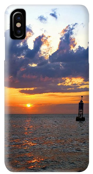 Sunset At The Bell Buoy - Phone Case