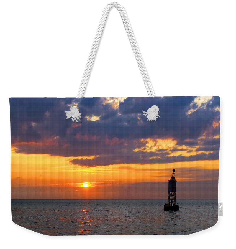 Sunset At The Bell Buoy - Weekender Tote Bag