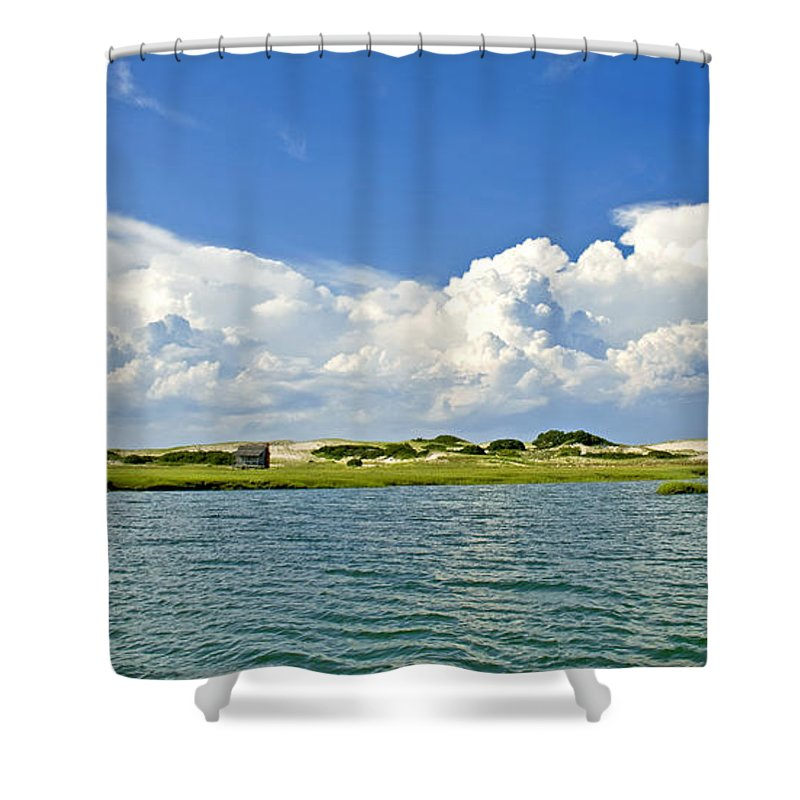 The Handys Camp On Sandy Neck - Shower Curtain