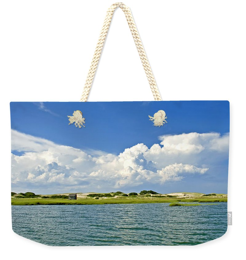The Handys Camp On Sandy Neck - Weekender Tote Bag