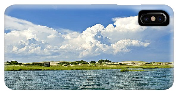 The Handys Camp On Sandy Neck - Phone Case