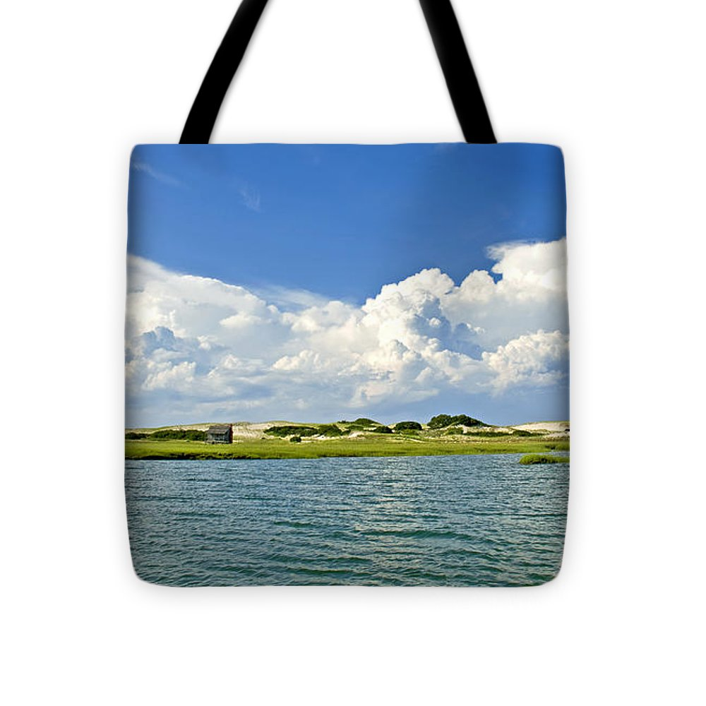 The Handys Camp On Sandy Neck - Tote Bag