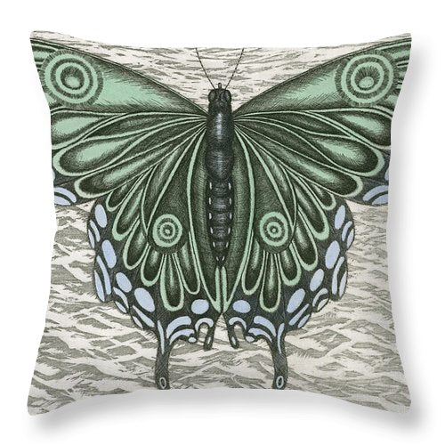 The Intro-spector - Throw Pillow