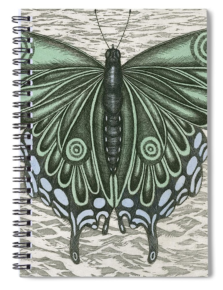 The Intro-spector - Spiral Notebook