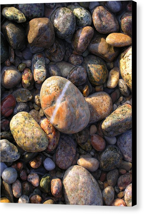 The Lucky Rock - Canvas Print