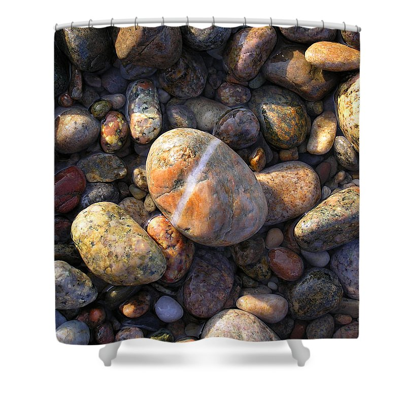 The Lucky Rock - Shower Curtain